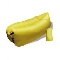 Nafukovací vak Duobed 250x100x50 cm žlutý