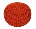 Pletený puf Coolpouf 777 orange