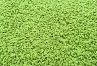 Kusový koberec Color Shaggy kytka zelený průměr 120 cm