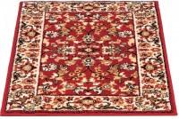 Kusový koberec Byblos 50 bordeaux 40 x 60 cm