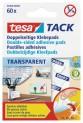 tesa TACK, obojstranne lepiace vankúšiky, priehľadné, v balení 60ks 59400-00000-00