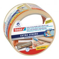 tesa Oboustranná kobercová páska, extra silně lepící, bílá, 10m x 50mm 05671-00001-00