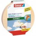 tesa Maskovacia páska Flexible, na oblúky, silne krepovaná, okrová, 25m x 25mm 56533-00000-00