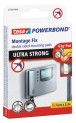 tesa Powerbond Ultra Strong, obojstranné montážne prúžky, biele, 9x 60mm x 20mm 55790-00003-00