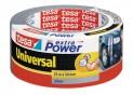 tesa Opravná páska Extra Power Universal, textilné, silne lepivá, strieborná, 10m x 50mm 56348-00000-06