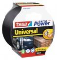 tesa Opravná páska Extra Power Universal, textilné, silne lepivá, čierna, 50m x 50mm 56389-00001-05