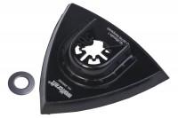 Wolfcraft Přilnavá deska trojhran 95mm pro brusné listy 3996000