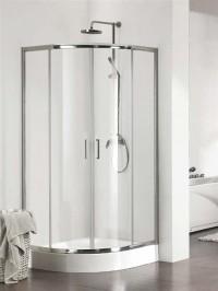 Čtvrtkruhový sprchový kout KERMI Cada CK 90 x 90 x 200 cm
