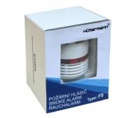 Hutermann požární hlásič a minidetektor kouře F9, baterie s 10 let životností, EN14604