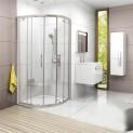 Štvrťkruhový sprchovací kút Ravak CP4 90 x 90 x 190 cm X3B270C00Z1B