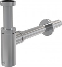 Umyvadlový designový sifon 5/4 kulatý bez vpusti Alcaplast A400