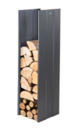 Zásobník na dřevo černý 270mm CAVERIO