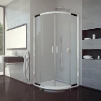 Čtvrtkruhový sprchový kout LaVilla VALEA 90 x 90 cm včetně vaničkyTRACY SETVALR5509