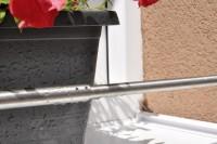 Zábrana truhlíku rozpěrná 600 – 1000 mm nerez