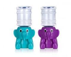 BANQUET Nápojový zásobník 2,25 L SLON, mix barev: modrý, fialový