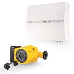 Regulace topení Jablotron (Oběhové čerpadlo 12V, záložní zdroj, řídící jednotka, teplotní senzory, spalinový termostat, siréna) HSF21-075