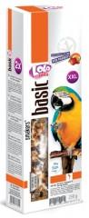 LOLO SMAKERS XXL 2 klasy ořechovo-ovocné pro velké papoušky