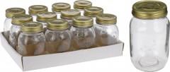 Dóza 500 ml šroubovací víčko sklo 4261764