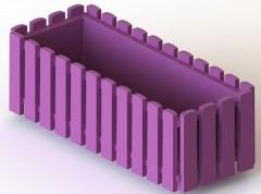 Truhlík 50 cm fialový Fency 659171