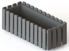Truhlík 50 cm taupe Fency 659172