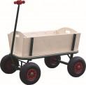 Vozík zahradní dřevěný 94x82x60 cm nosnost 100 kg 2780036