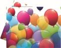 Ubrus 180x120 cm dekor balónky plast 4052511