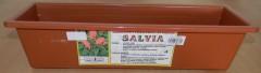 Truhlík samozavlažovací 50 cm terakota Salvia 1640069