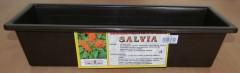 Truhlík samozavlažovací 50 cm hnědý Salvia 1640066