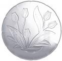 Talíř dezertní 24,7 cm tulipán sklo 2600102