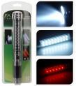 Svítilna hliník 33 LED 24,5 cm 3 funkce 4262019