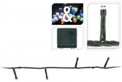 Světla vánoční 120 LED žárovek barevná i bílá přepínací vnitřní i venkovní 4261972