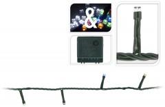 Světla vánoční 180 LED žárovek barevná i bílá přepínací vnitřní i venkovní 4261973