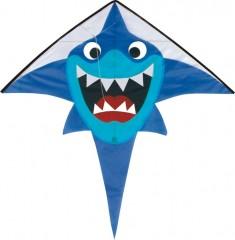 Drak létající Žralok 136x133 cm nylon 1580045