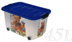 Box s kolečky 60x37x30 cm dekor 4261413