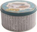 Dóza plechová 14x7 cm Cup tea kulatá 491512