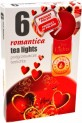 Svíčka čajová 6 ks-romantica 3950357