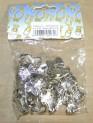 Skřipec záclonový kov malý 04 - stříbrný 1120116