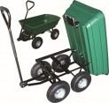 Vozík zahradní sklápěcí 104x94x51 cm 120kg / 70l 2780035