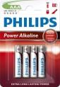 Baterie mikrotužka alkalická Philips - Powerlife blistr R3 1710019