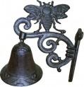 Zvonek domovní včela litina 195x145x95 mm 4020033