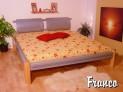 FRAN-07 CO kovová postel včetně matrace a roštu