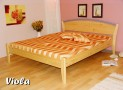 VI-07 OLA dřevěná postel SMRK vč. matrace a roštu