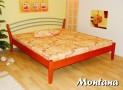 MON-07 TANA-B dřevěná postel SMRK vč. matrace a roštu