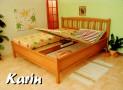 KA-07 RIN celomasivní postel vč. matrace a roštu 160 x 200 cm