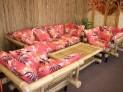 Bambusová sedací souprava