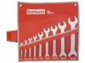 Sada plochých kľúčov Fortum 9 ks