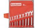 Sada očkoplochých kľúčov Fortum 9 ks