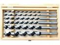 Vrtáky do dreva hadovité 230 mm 6 ks