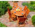 Nábytok záhradný 7-dielny set CAROLINA