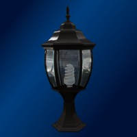 Fotogalerie: Vonkajšie svietidlo Top Light Trento sl. 70 Č š 24 cm v 48,5 cm